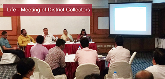 Meeting of District Collectors on Life