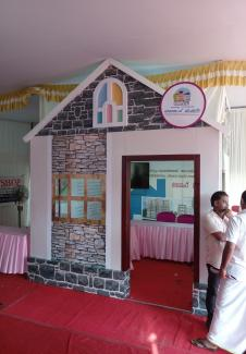 Life stall at Panchayath Day celebrations