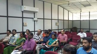 State Level Review Meeting of PD's & DC's on 10/04/2018