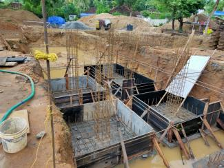 Prefab Towers - Construction Status - Palakkad